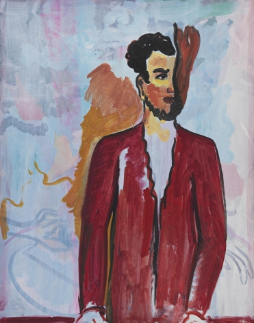 Untitled, 1982. Oil on canvas, 47 3/4 x 37 3/4 inches (121.3 x 95.9 cm).