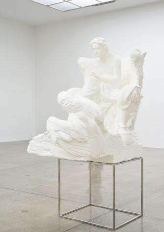 "Oliver Laric sculpture ""Beethoven"""