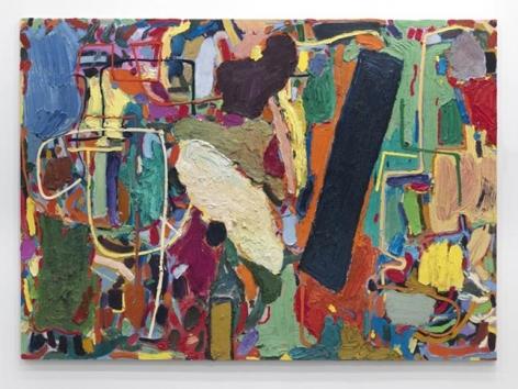 Lieblingsblid von Paul Cézanne (Favorite Painting of Paul Cézanne), 2009. Oil on canvas, 79 X 110 inches (200.7 x 279.4 cm). MP 43