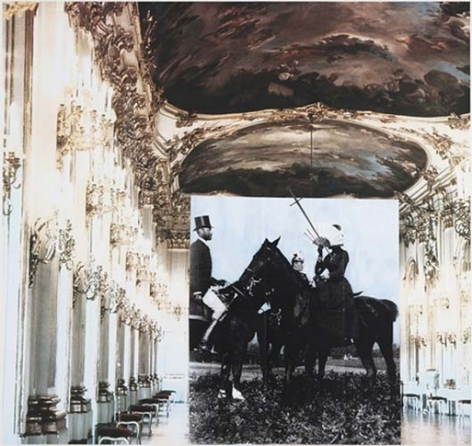 Tragedy (Sissi at the Great Gallery II), 2007. Archival inkjet print on watercolor paper