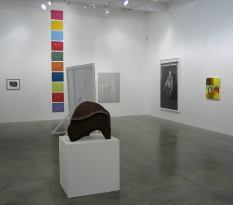 Galerie Daniel Buchholz, Cologne at Metro Pictures. Installation View.