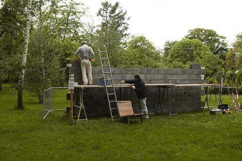 Walls. Installation view, 2012. Villa Schöningen, Potsdam, Germany.