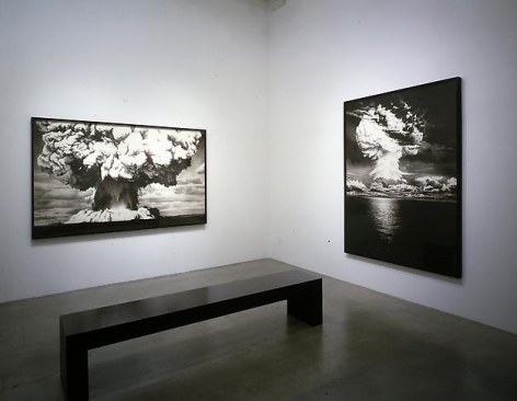 """""""The Sickness of Reason,"""" installation view, 2004. Metro Pictures, New York."""