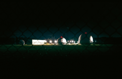 Trevor Paglen - NSA Surveillance Base, Egelsbach photograph