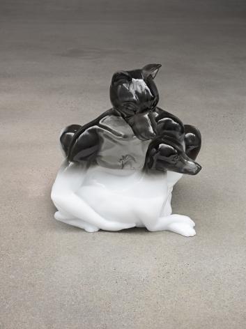 Oliver Laric sculpture 'Hundemensch'