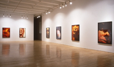 Cindy Sherman, installation view, 1996. Metro Pictures, New York.