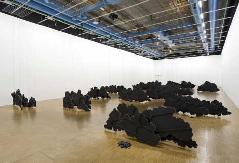 Latifa Echakhch's L'air du temps second installation view from the Centre Pompidou