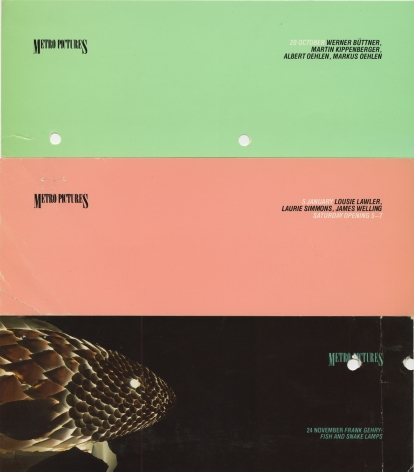 Invitations from 1984 and 1985