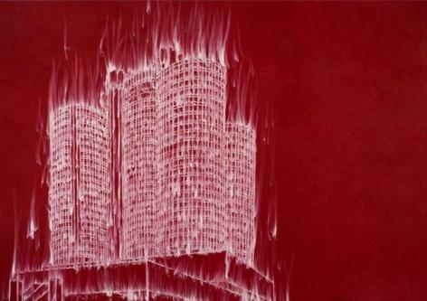 Gary Simmons Bonaventure Burn, 2007