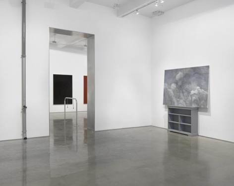 """Claire Fontaine, """"Stop Seeking Approval."""" Installation View, 2015. Metro Pictures, New York."""