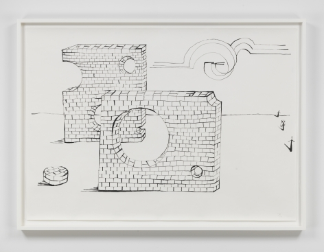 Judith Hopf - Wall 2, 2019.