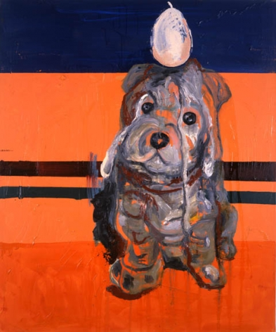 Martin Kippenberger untitled painting from 1996
