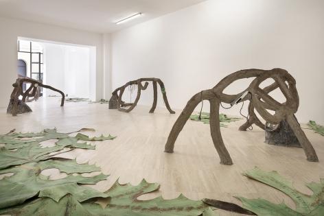 Romance. Installation view, 2019. Fondazione Memmo, Rome. Photo: Daniele Molajoli.