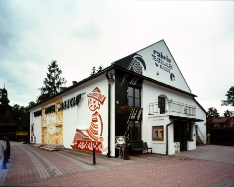 Public theatre, 2010. Rabka Zdroj, Poland.
