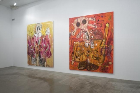 Installation view, 2008. Metro Pictures, New York.