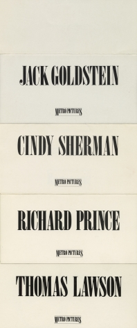 Invitations from 1980 and 1981