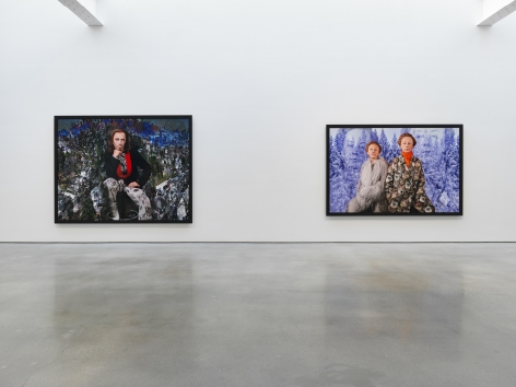 Cindy Sherman installation view