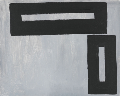 Untitled, 2012. Acrylic on canvas, 15.75 x 19.7 inches (40 x 50 cm).