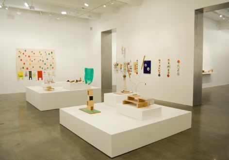 "B. Wurtz: Works 1970â€""2011, installation view. Metro Pictures, New York."