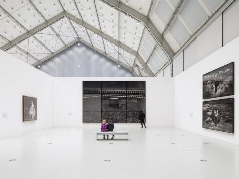 Proof: Francisco Goya, Sergei Eisenstein, Robert Longo. Installation view, 2018. Deichtorhallen Hamburg. Photo: Henning Rogge.