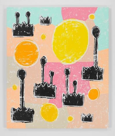 Olaf Breuning painting 'Somewhere Else'