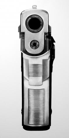 Robert Longo Untitled (Bodyhammer: 9mm), 2008