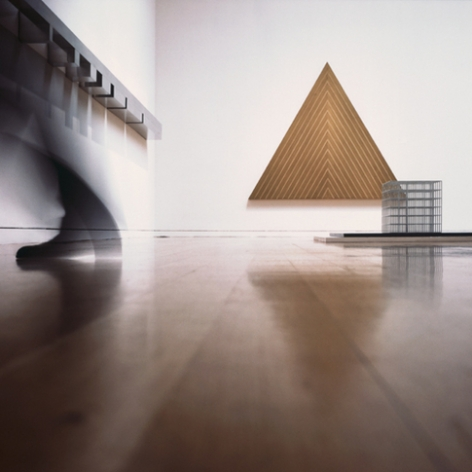 Triangle, 2008/2009. Cibachrome face mounted to plexi on museum box, 42-3/8 x 42-3/8 inches (105.7 x 105.7 cm). MP 628