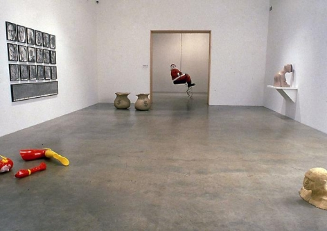 Installation view, 2001. Metro Pictures, New York.