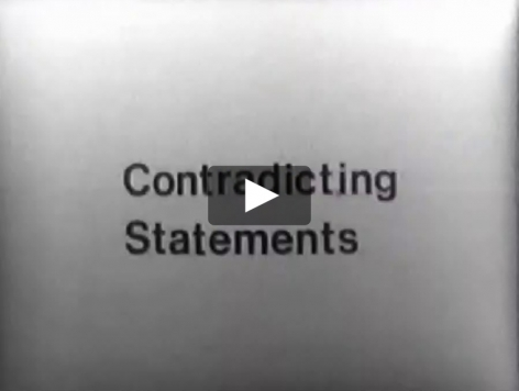 John Miller video of various people delivering statements