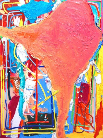 Tote Kühe im Himmel (Neo-Cézannismus), 2011.