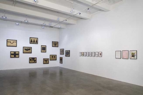 """Andreas Hofer, """"Only Gods Could Survive,"""" 2007. Metro Pictures, New York."""