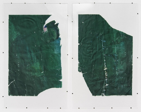 Jo Shane work 'Untitled Diptych'