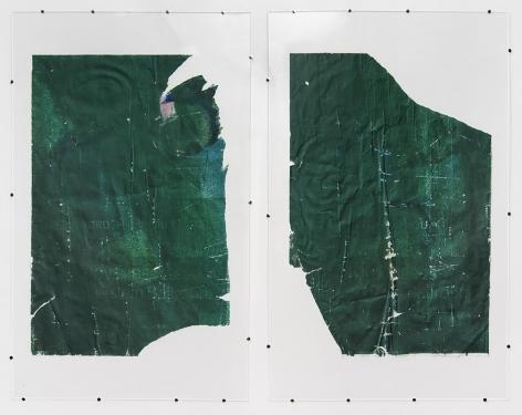 Jo Shane work 'Untitled Diptych'