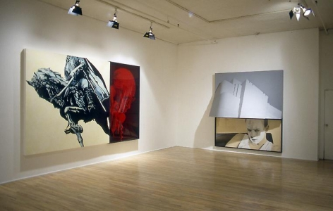 Installation view, 1983. Metro Pictures, New York.