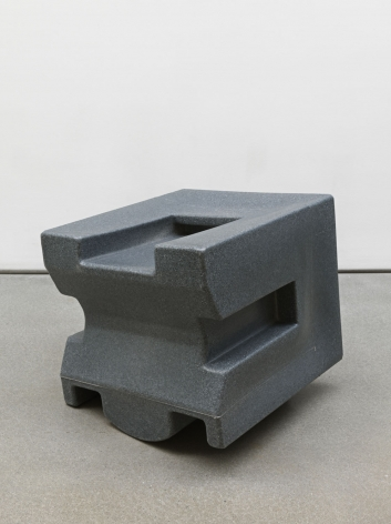 Untitled, 2018. HDPE, One of six parts, Each 23 1/8 x 24 x 21 3/4 inches (58.7 x 61 x 55.2 cm).