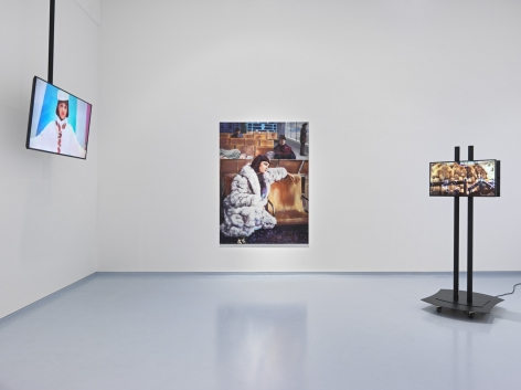 Belavia. Installation view, 2018. Metro Pictures, New York.