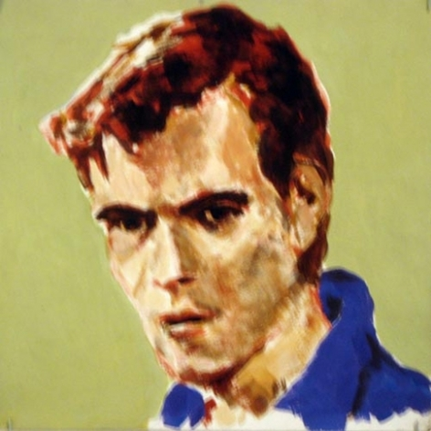Punk, 1981. Acrylic on board, 12 x 12 inches (30.5 x 30.5 cm). MP 6