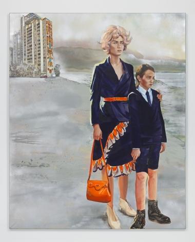 Prospekt Niezalezhnosti, 2018. Oil and acrylic on canvas,