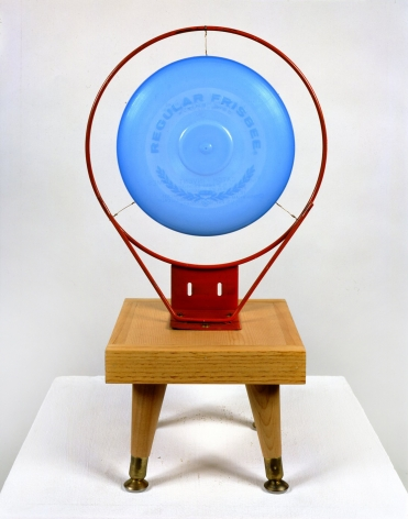 Untitled (blue frisbee), 1984.