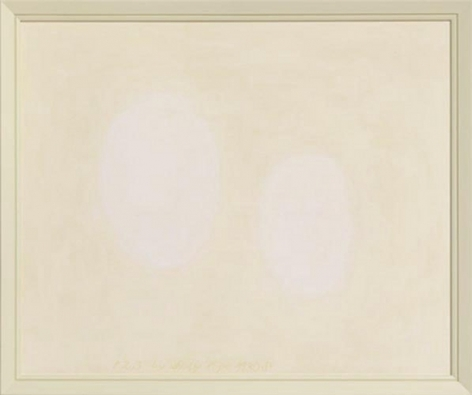 P 2,3, 2010. Oil on acid free museum mat board, 23 1/2 x 28 1/4 inches (59.7 x 71.8 cm). MP 45