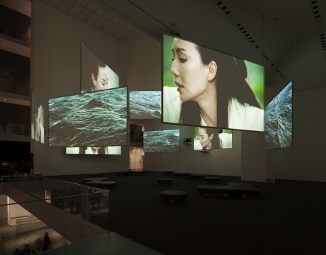Ten Thousand Waves. Installation view, 2013. Museum of Modern Art, New York.