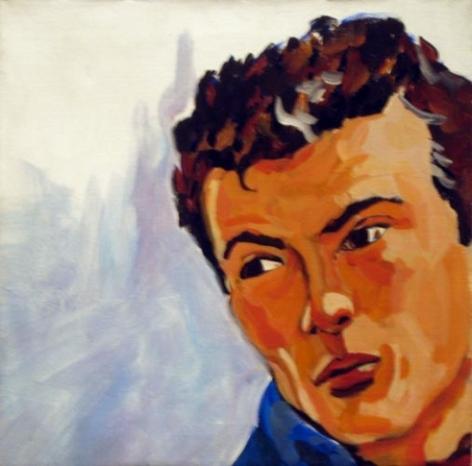 Untitled, n.d. Acrylic on canvas. 18 x 18 inches (45.7 x 45.7 cm). MP 41