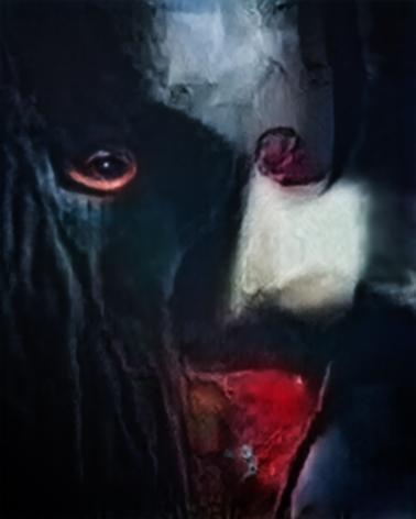 Vampire (Corpus: Monsters of Capitalism) Adversarially Evolved Hallucination, 2017.