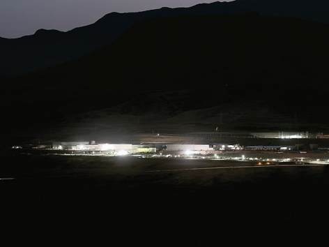 National Security Agency Utah Data Center, Bluffdale, UT, 2012.