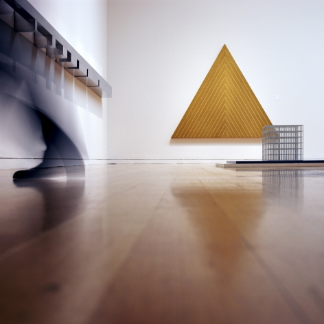 Triangle, 2008/2009 Cibachrome face mounted to plexi on museum box, 42 3/8 x 42 3/8 inches (105.7 x 105.7 cm)