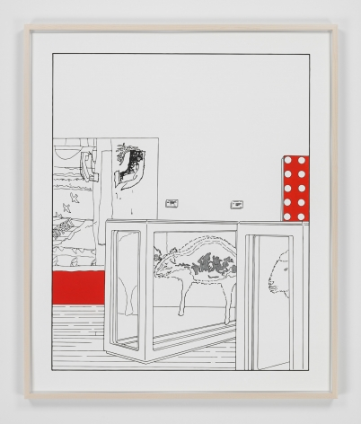 Louise Lawler work 'Dots and Slices (traced and painted), Sixth'
