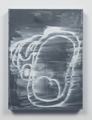 Gary Simmons - Screaming For Vengeance painting
