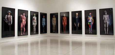 """Installation view of """"The Art Freaks,"""" 2011. Metro Pictures, New York"""