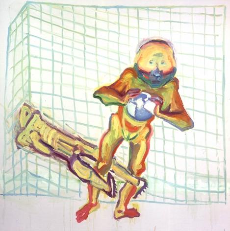 Maria Lassnig Im Netz, 2001