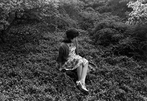 Cindy Sherman, Untitled Film Still #57, 1980. Gelatin silver print,